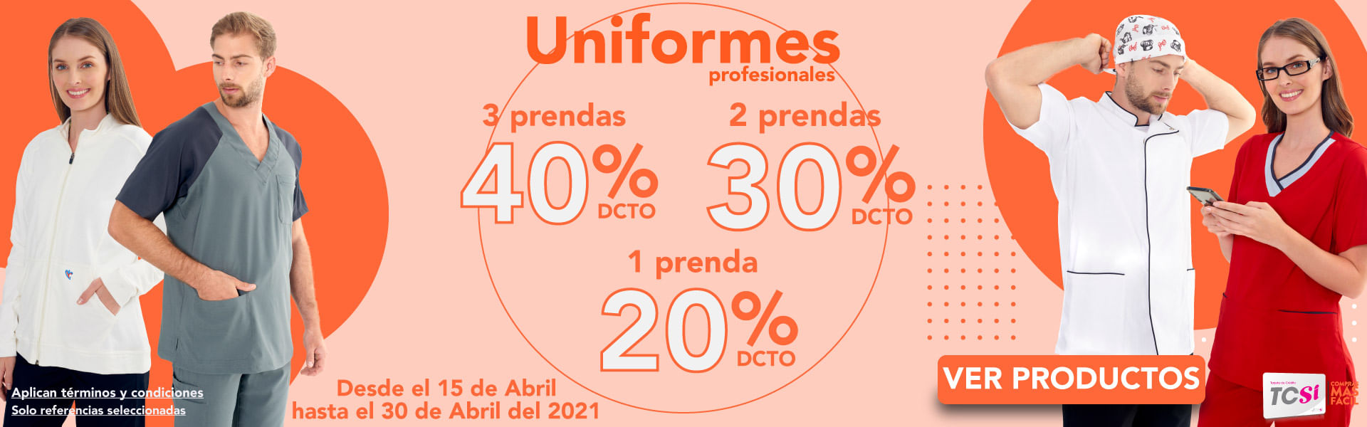 Uniformes Profesionales- Almacenes Si