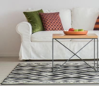 tapetes para diferentes espacios del hogar
