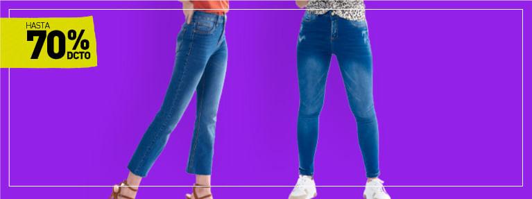 Jeans para mujer - Almacenes Si