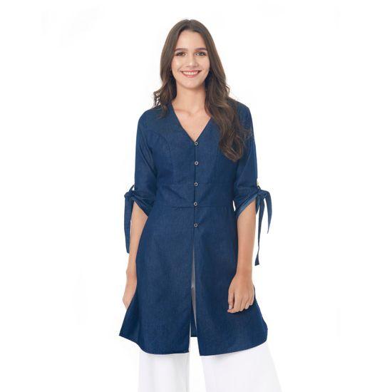 ropa-blusonmangatrescuartos-249166-7001-azulindigo_1