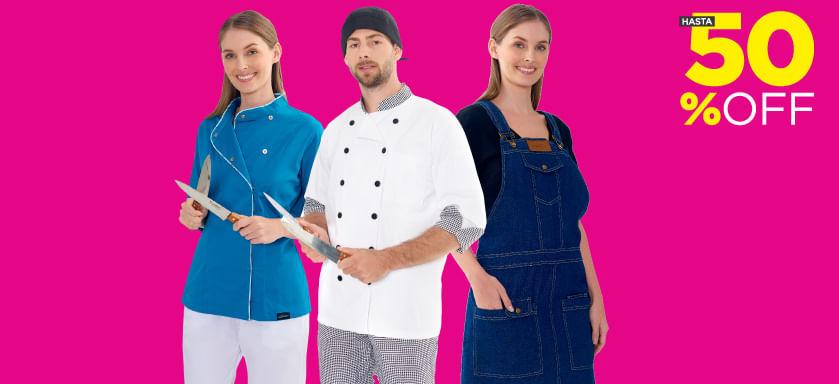 Uniformes para chef- Almacenes Si